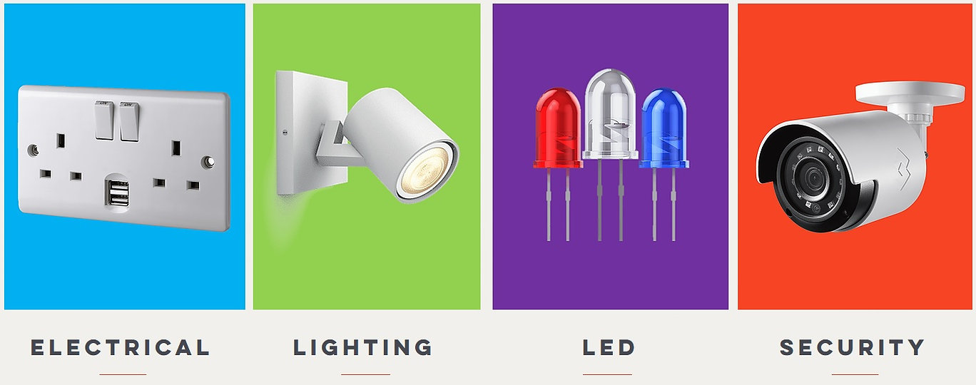Electrical, Lighting, Led, Security