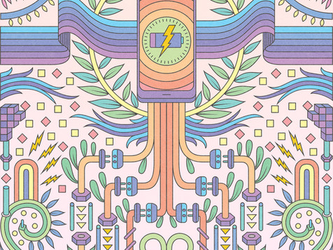 VISIBLE WIRELESS: COLORING BOOK