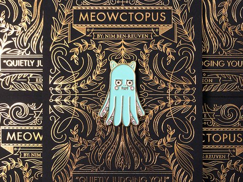 THE MEOWCTOPUS: ENAMEL PIN no.1