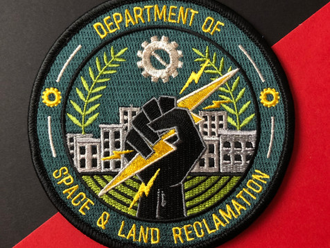 DEPARTMENT OF SPACE & LAND RECLAMATION PATCH