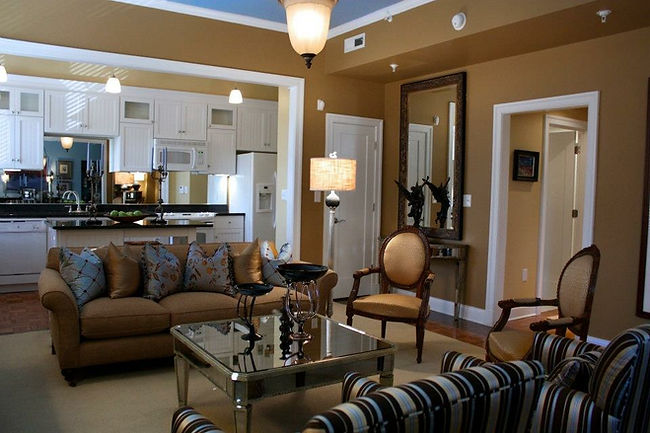 E Clay Living Room
