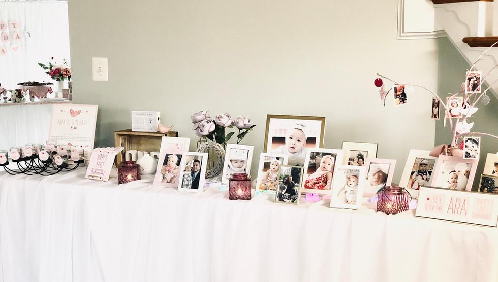 photo table & doljabi event kit