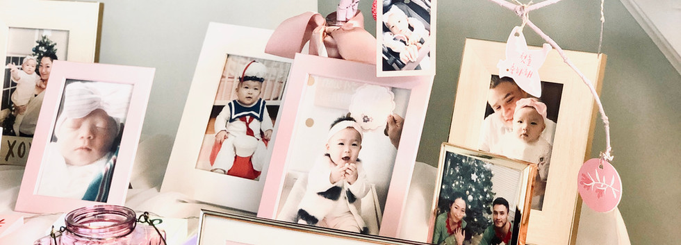 personalized photo table