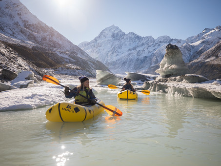 Hiking and Pack-rafting in Mount Cook National Park