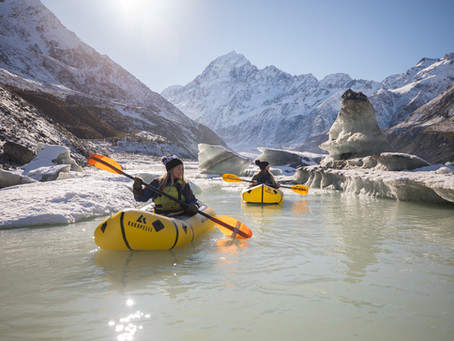 Hiking & Pack-rafting in Mount Cook National Park