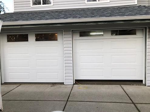 double garage doors steelcraft installed by absolute garage door repair