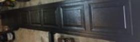 Northwest door 16x7 black short panel