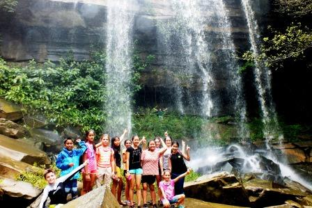 see the water fall