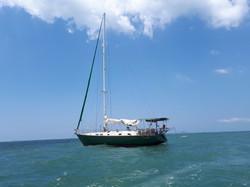 At anchor Jomtien