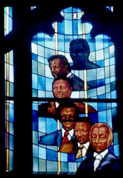 African American Pulpit Window