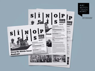 Sinopsis Fanzine - Visual Identity, Layout Design