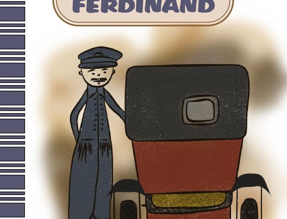 "Livre ""le taxi de ferdinand"""