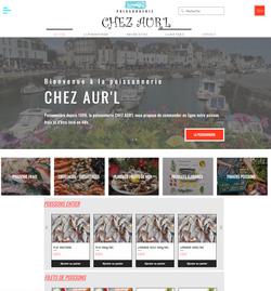 Site E-commerce Chez Aur'l