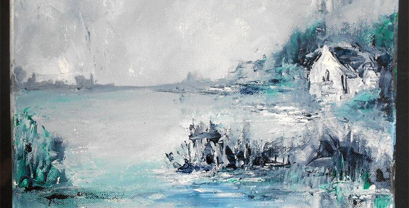 """Peinture """"En Brière"""""""