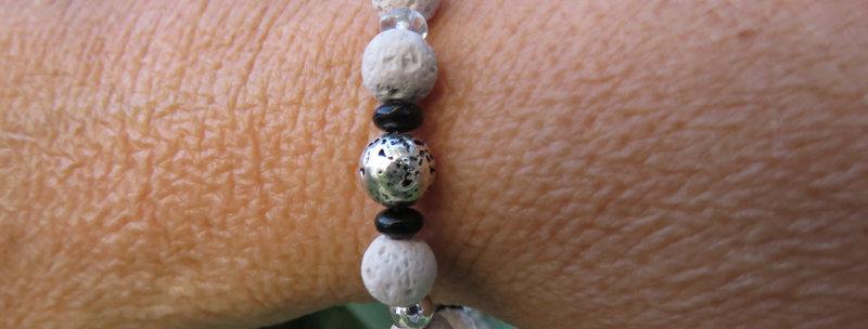 Bracelets perles de lave