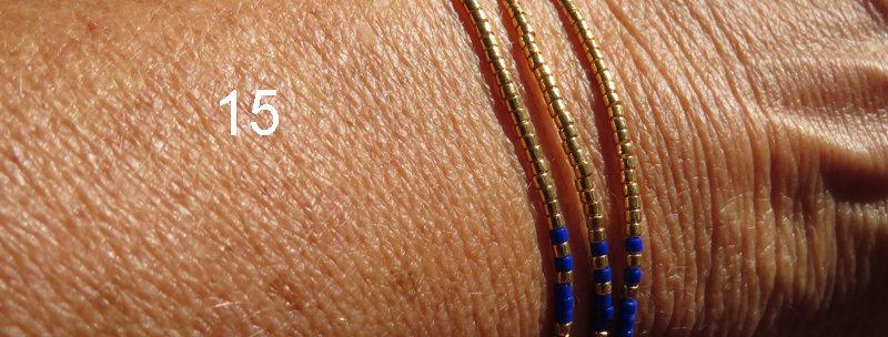Bracelets trio perles miyuki
