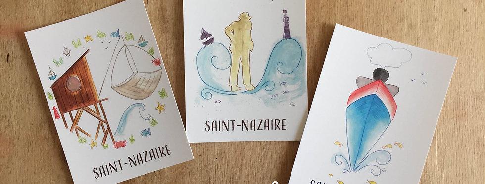 Cartes postales Saint-Nazaire