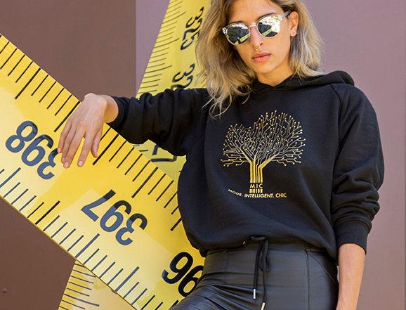 "Sweat-shirt femme ""Organic Tree"""