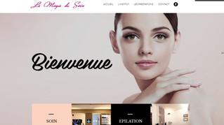 """Nouveau site internet pour l'institut """"La magie du soin"""" au Perreux-sur-Marne"""