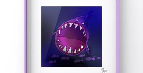 Affiche requin