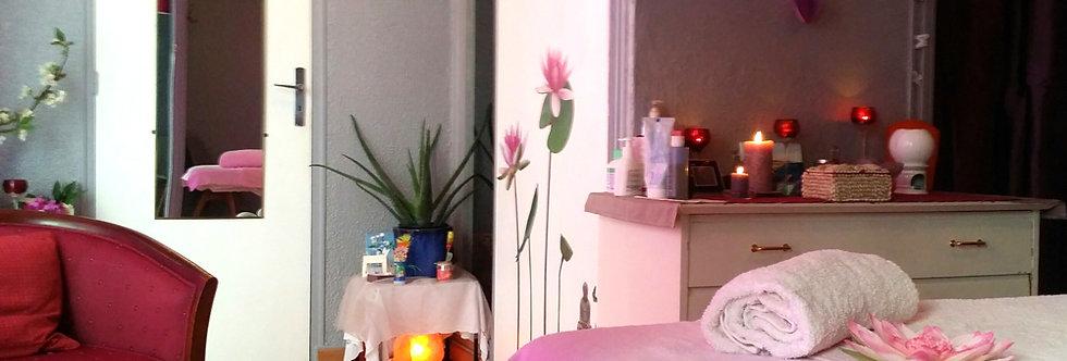 """Carte cadeau """"Massage Bien être + Reiki - 1H30"""""""