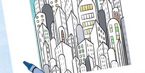 Affiche ville