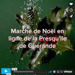 Vidéo teaser marché de noël des créateurs