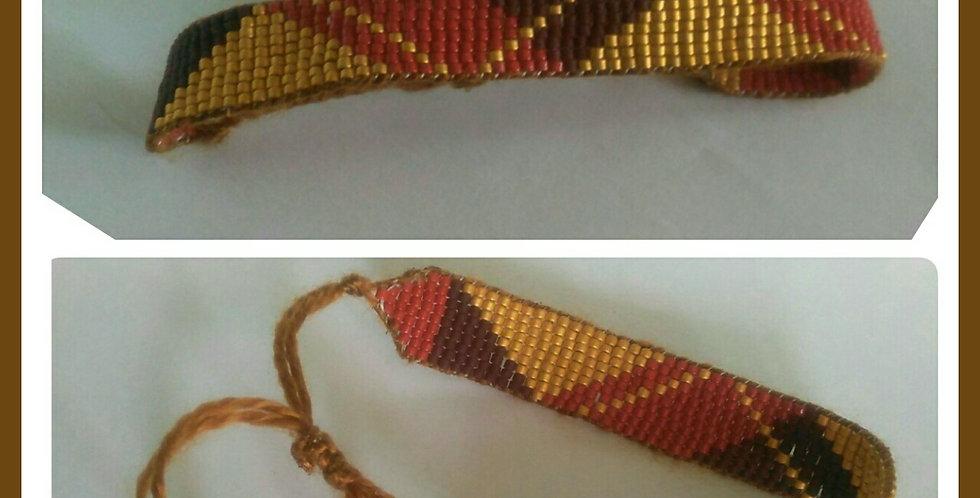Bracelet tissage main miyuki