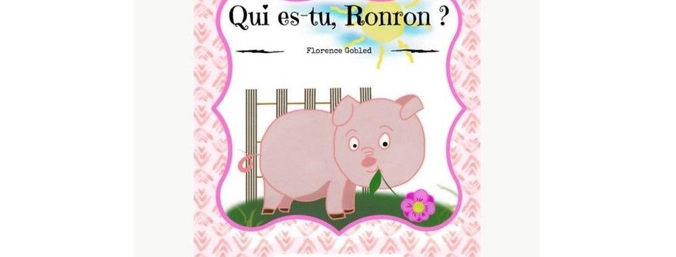 """Livre """"Qui es-tu ronron"""""""