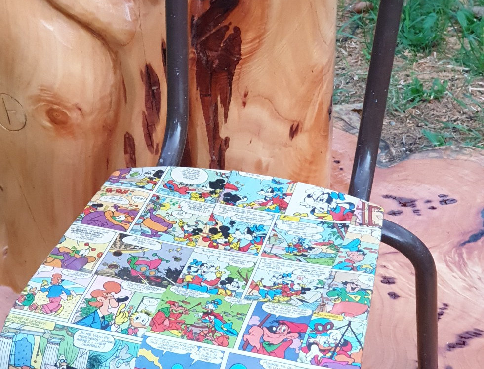 Chaise enfant Mickey Parade
