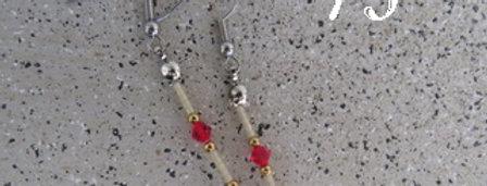 Boucles d'oreilles duo