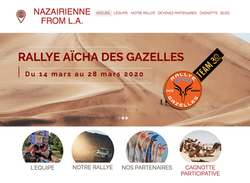 Site vitrine Nazairiennes from L.A