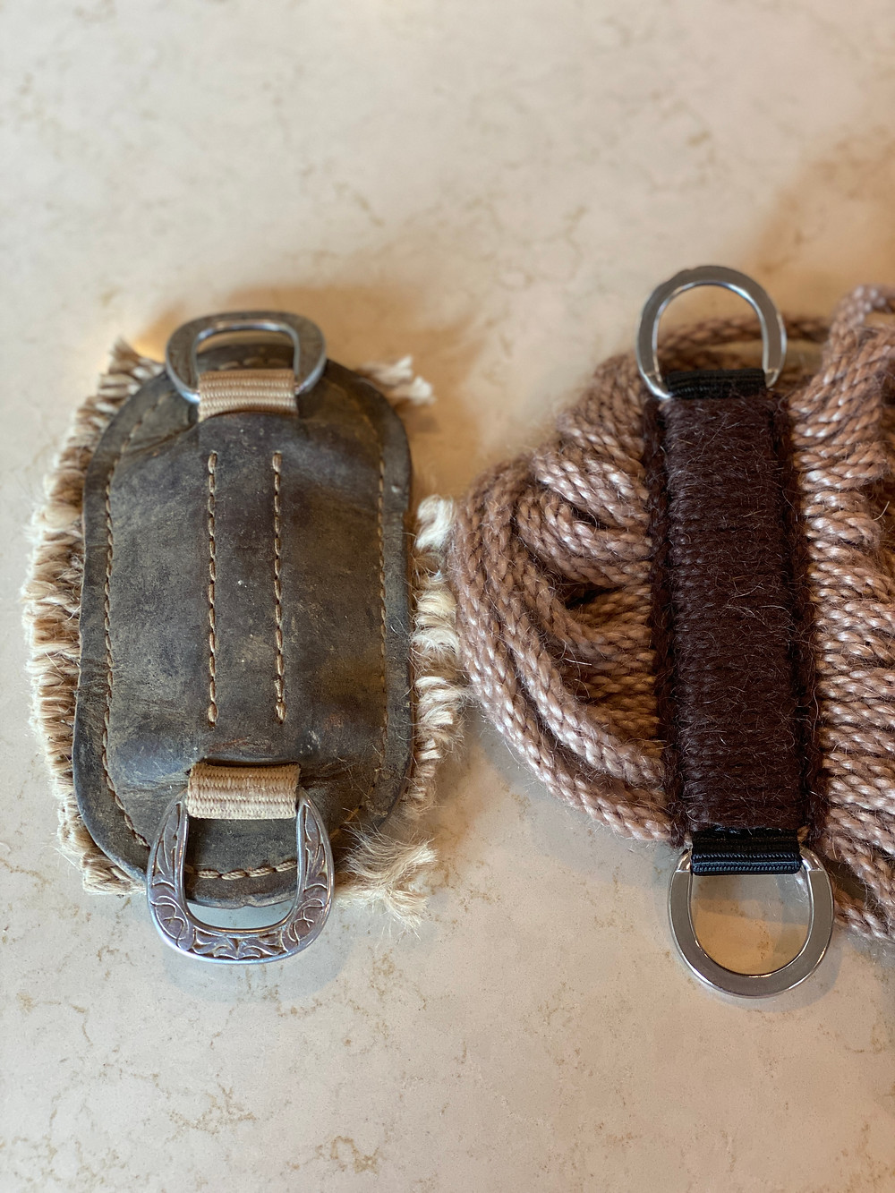 mohair cinch, custom cinch, roper cinch