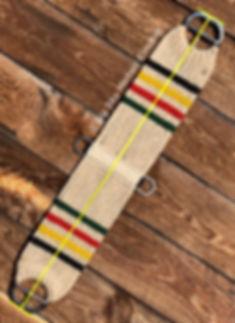 measuring a mohair cinch