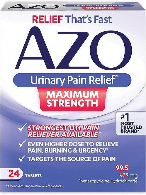 AZO Urinary Pain Relief Maximum Strength   24 Tablets