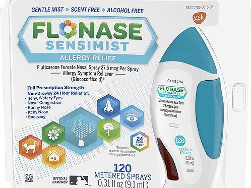 Flonase Sensimist Allergy Relief Nasal Spray Non Drowsy, 120 Sprays