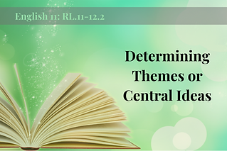 RL.11-12.2-Determining Themes or Central