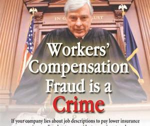 Work Comp Fraud in Ohio...I am jealous!
