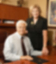 Bill Delaney and his Wife Ruth at Rancho Cucamonga Commercial Insurance Co.