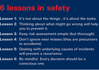 Another Great Safety Article from Dr. Long