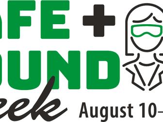 OSHA Safe & Sound Week Webinar