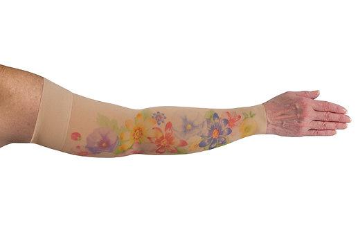 LympheDIVAs (Arm Sleeve) - Dahlia