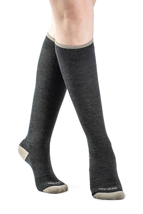Sigvaris Merino Outdoor Socks: (Knee) 15-20 mmHg - Model 421C