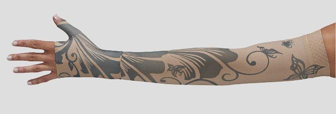 Juzo Signature Print Series (Butterfly Henna)- Model 2000 / 2001