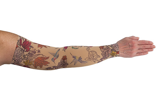 LympheDIVAs (Arm Sleeve) - Hummingbird