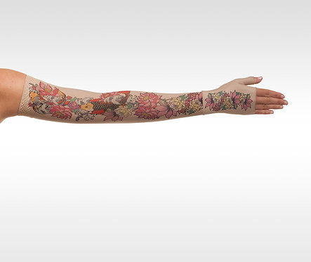 Juzo Signature Print Series (Koi Flowers Tattoo)- Model 2000 / 2001
