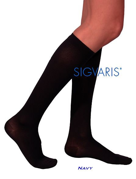 Sigvaris Cotton: (Knee) 30-40 mmHg - Model 230C