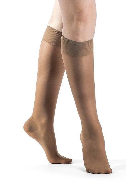 Sigvaris Sheer Fashion: (Knee) 15-20 mmHg - Model 120C