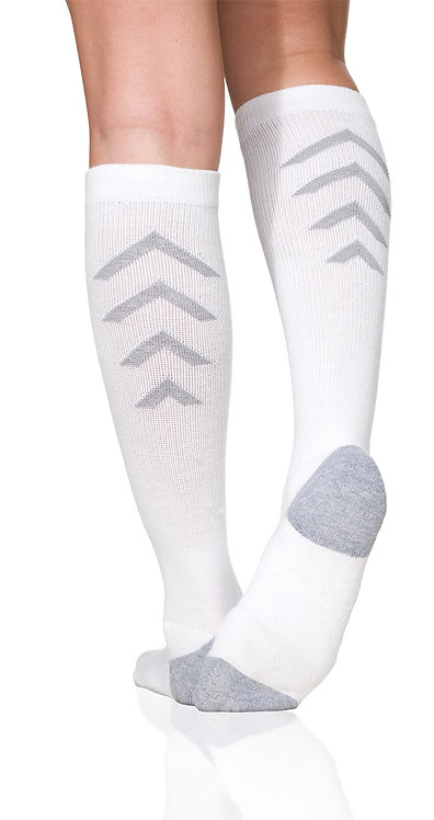 Sigvaris Athletic Recovery Socks: (Knee) 15-20 mmHg - Model 401C