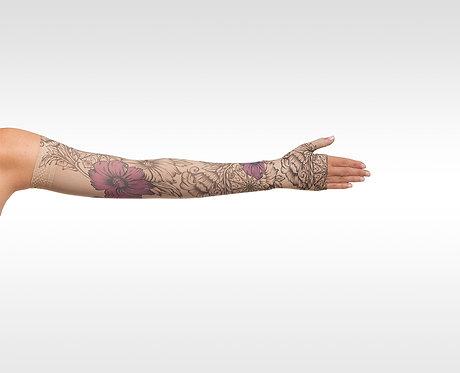 Juzo Signature Print Series (Floral Purple Henna)- Model 2000 / 2001